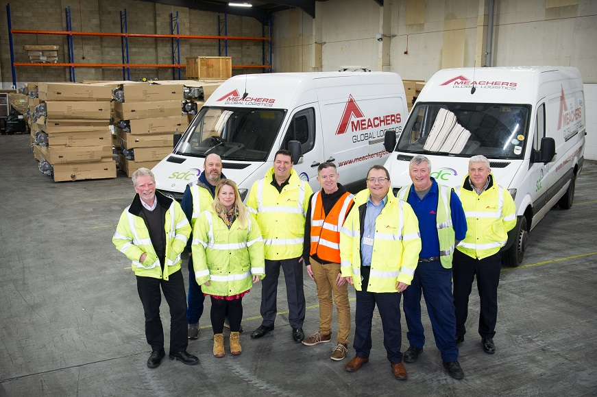 Sustainable Distribution Centre team shot