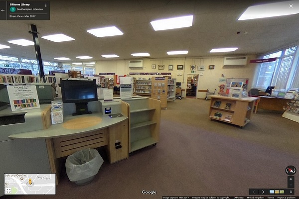 Bitterne Library 360