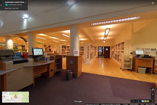 Central Library 360