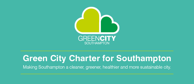 Green City header