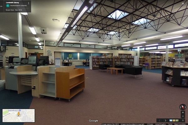 Lordshill Library 360