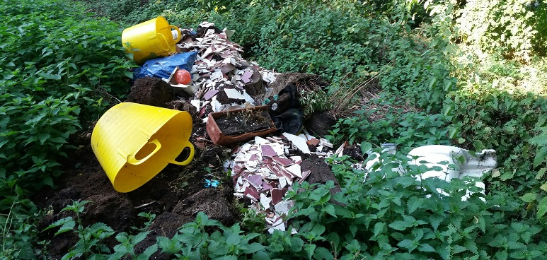 Toothill Road fly-tip