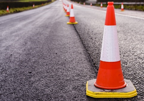 Roadworks cones