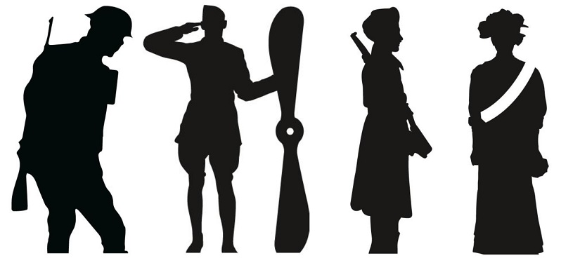 03719fe48557f First World War service men and women will be remembered this November,  through Silent Soldier silhouettes which will be placed around Southampton  to mark ...