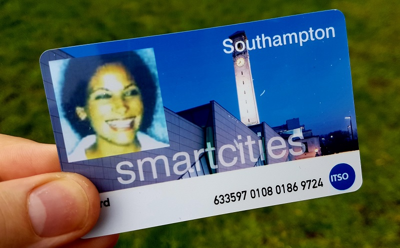 SmartCities card photo