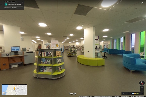 Woolston Library 360