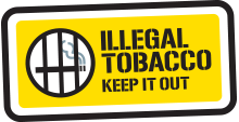 Illegal Tobacco - Keep it out logo