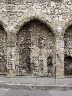 The Arcades, Western Esplanade - detail of seventh arcade (working southwards), 21.6.09,  © I Peckham