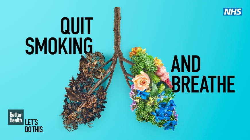 NHS and Southampton City Council encourage smokers to quit this Stoptober